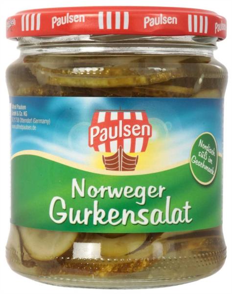 Norweger Gurkensalat 370 ml