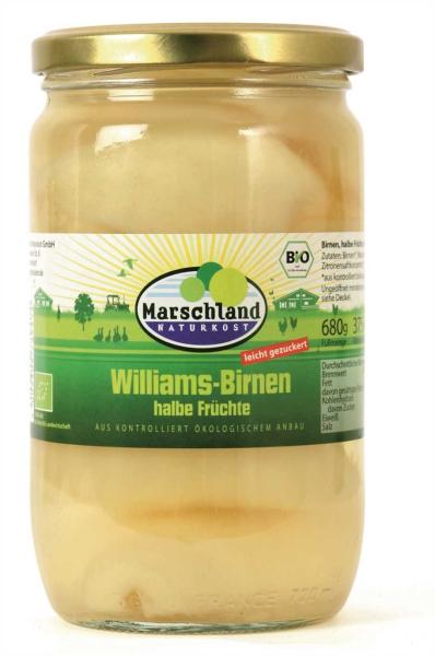 Bio-Birnen, halbe Früchte 720 ml