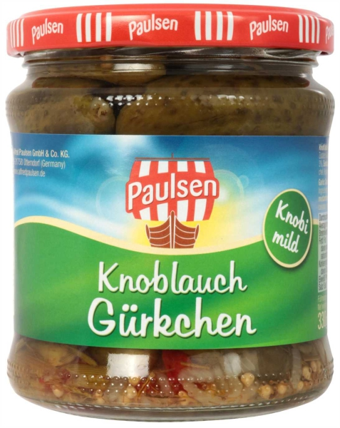 Knoblauch Gürkchen 370 ml