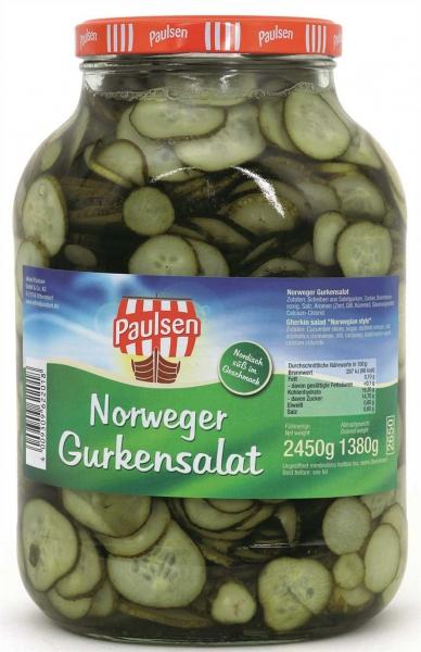 Norweger Gurkensalat 2.650 ml