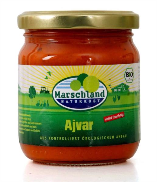 Bio-Ajvar mild 210 ml