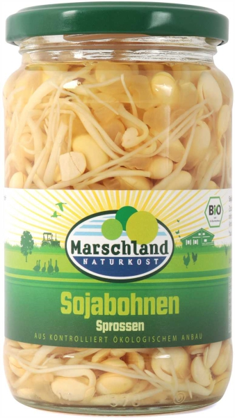 Bio-Sojabohnen Sprossen 370 ml