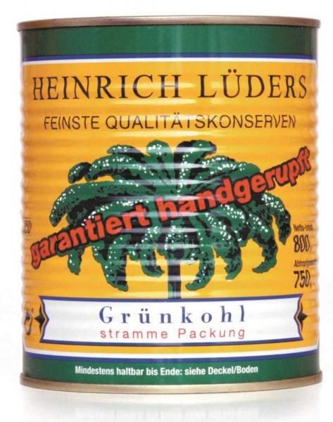 Grünkohl handgerupft 850 ml