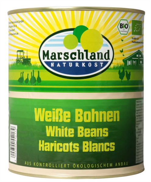 Bio-Weiße Bohnen 3.100 ml