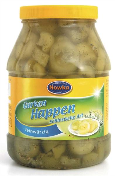 Gurken-Happen schlesische Art 2.400 ml