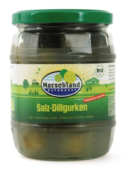 Bioland Bio-Salzdillgurken 580 ml