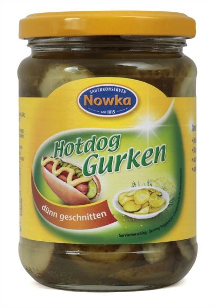 Hotdog Gurken 370 ml