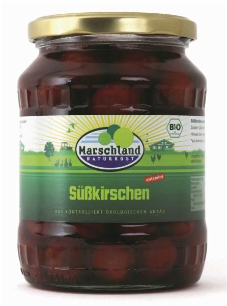 Bio-Süßkirschen 720 ml