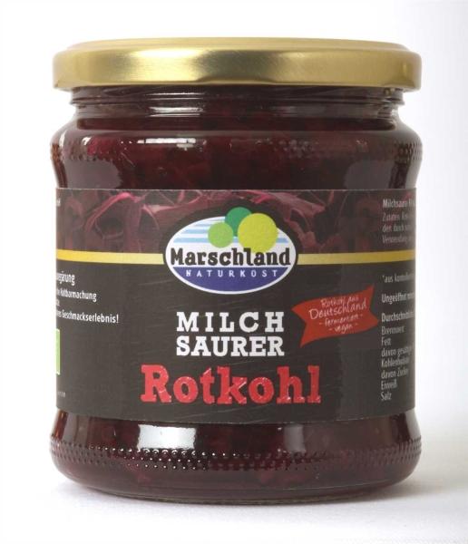 Bioland Bio-Rotkohl milchsauer 370 ml