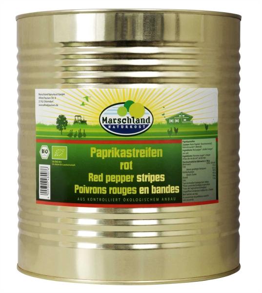 Bio-Tomatenpaprika Streifen rot 10.200 ml