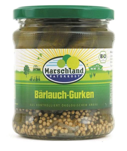 Bioland Bio-Bärlauch-Gürkchen 370 ml