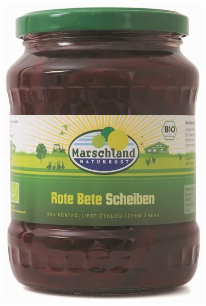 Bioland Bio-Rote Bete Scheiben 720 ml