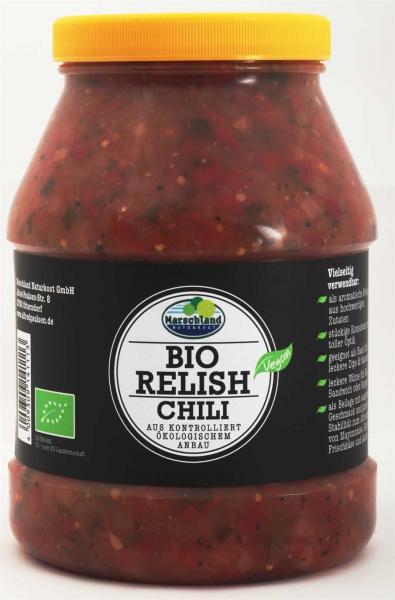 Bio Gurken-Relish Chili 2.400 ml