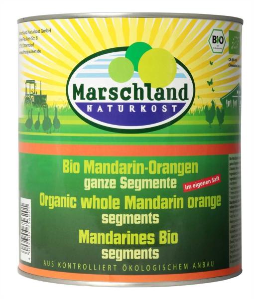 Bio-Mandarin-Orangen 3.100 ml